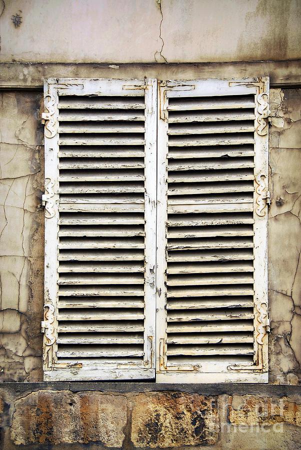 Window Photograph - Old Window by Elena Elisseeva