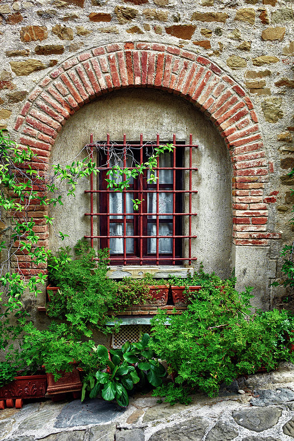 Old Windows. Color Image Photograph by Claudio.arnese