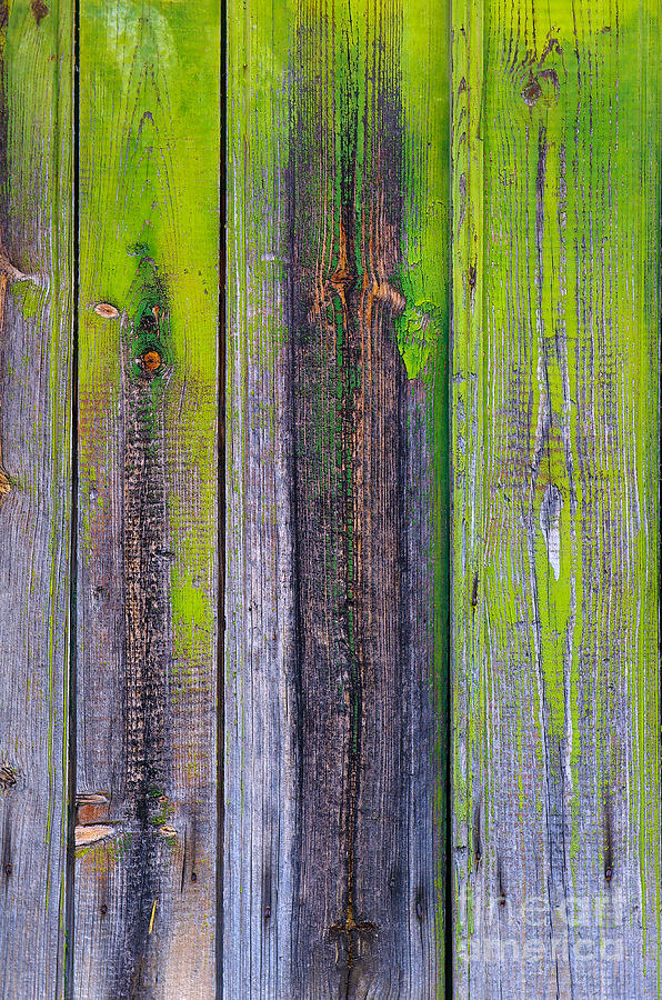 Old Wooden Background Photograph by Carlos Caetano