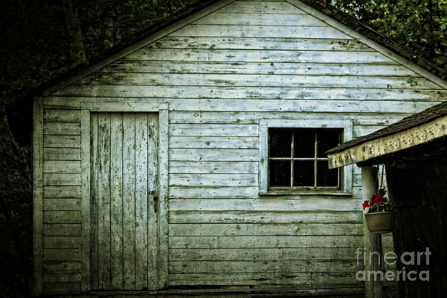 Building Photograph - Old Wooden Building Onaping by Marjorie Imbeau