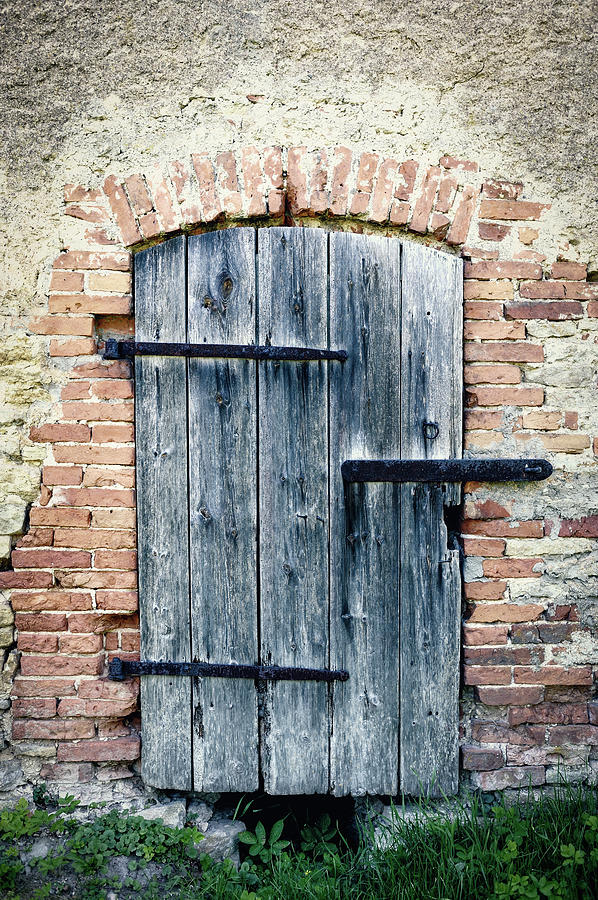 Old Wooden Door Photograph by Styf22