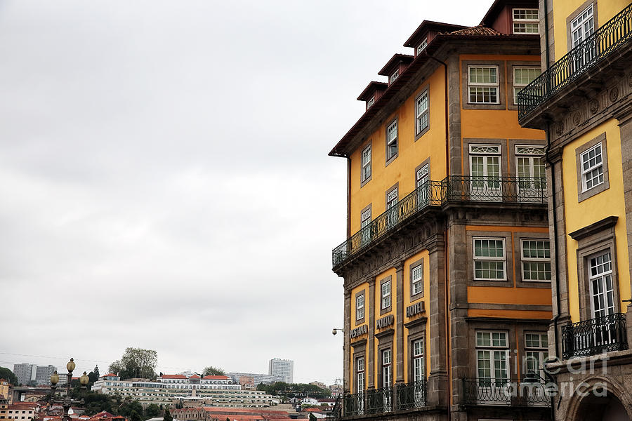 Old World Photograph - Old World Buildings In  Porto by John Rizzuto