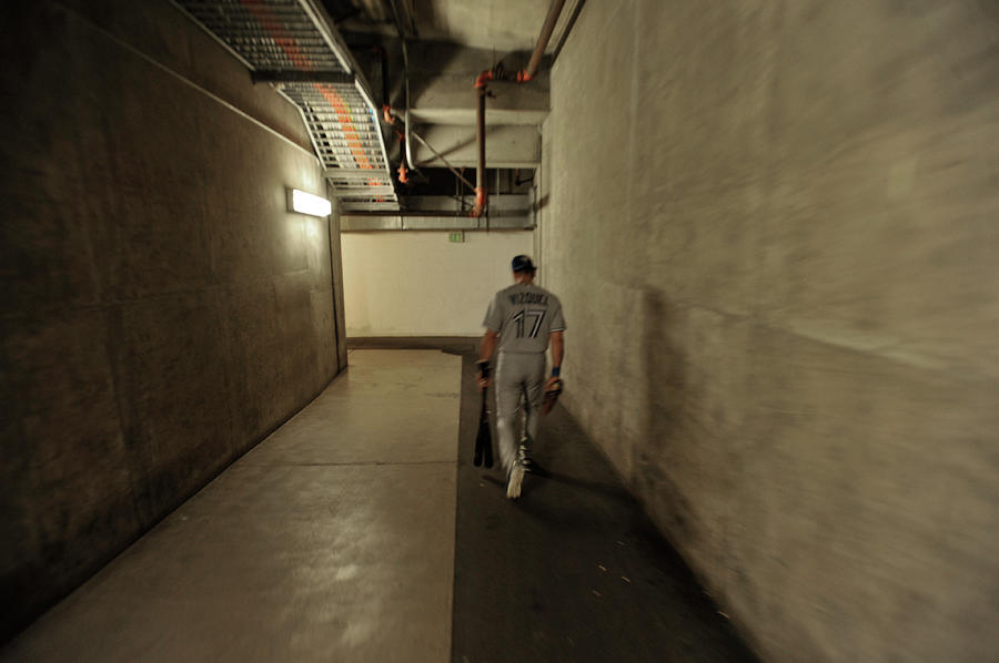 Oldest Major Leaguer To Start At Photograph by Stephen Albanese