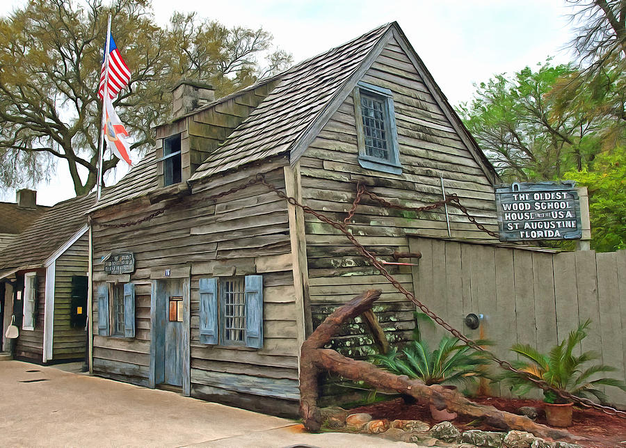 Oldest wood school house in the usa photograph by marion for Craft schools in usa