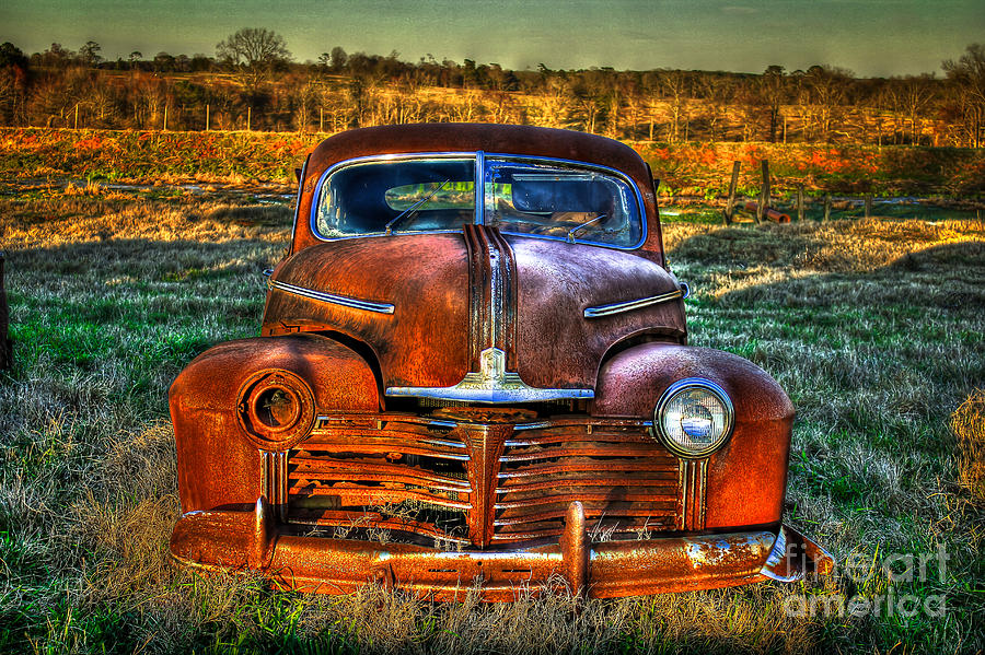 Pontiac Photograph - Ole One Eye by Reid Callaway