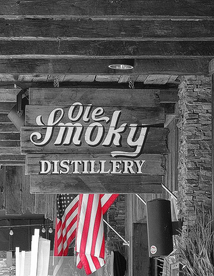 Ole Smoky Distillery Photograph - Ole Smoky Distillery by Dan Sproul