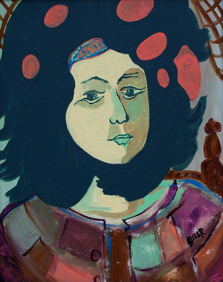 Art Painting - Olga  by Oscar Penalber