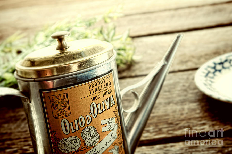 Olive Photograph - Olio Doliva  by Olivier Le Queinec