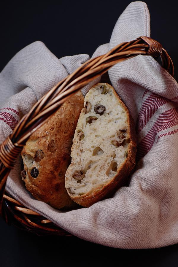 Olive Bread Photograph by Lucytxcicipeng