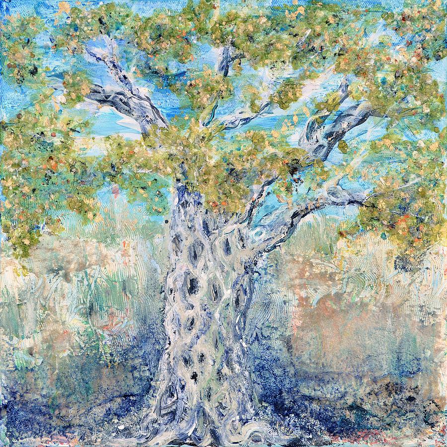 Olive Painting - Olive by Regina Valluzzi