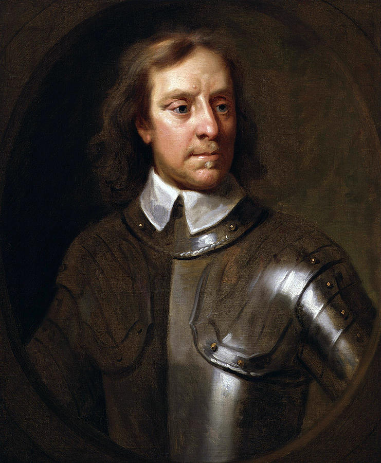 Oliver Cromwell Painting - Oliver Cromwell by War Is Hell Store