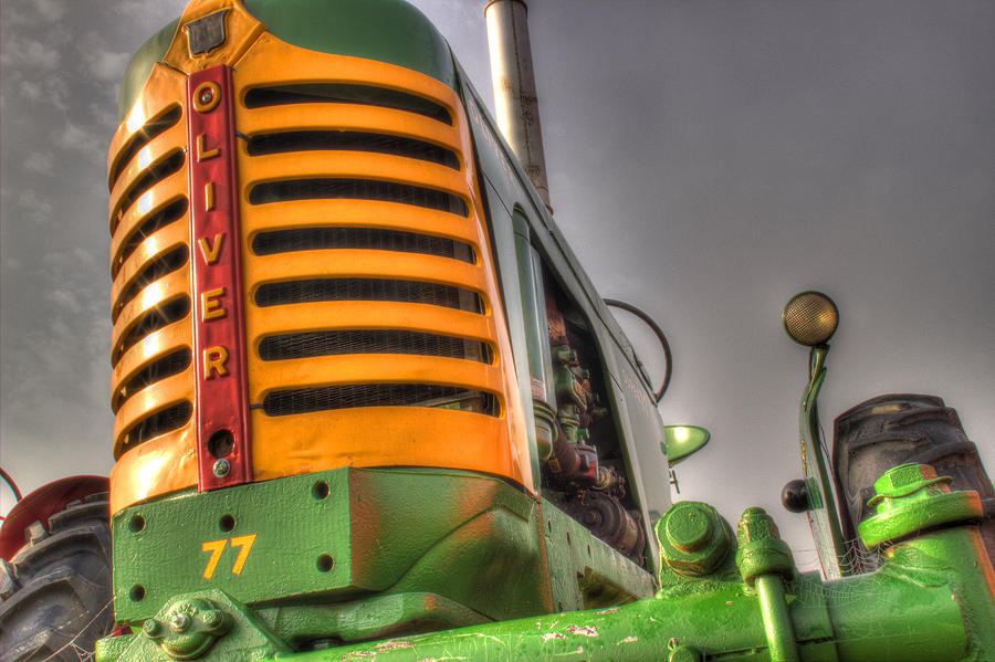 Oliver Tractor Photograph - Oliver Tractor by Michael Eingle