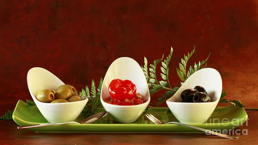 Olives Anyone Photograph - Olives Anyone by Inspired Nature Photography Fine Art Photography
