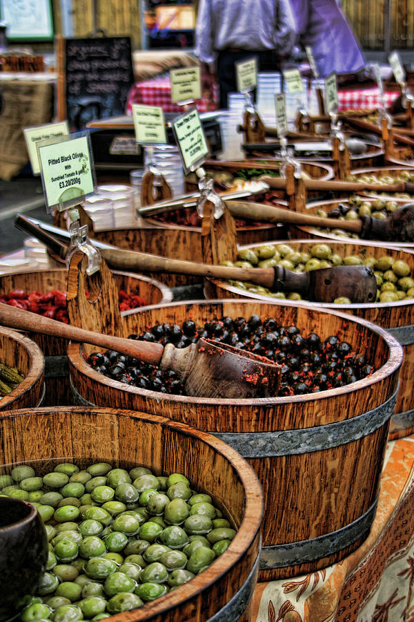 Olives Photograph - Olives by Heather Applegate