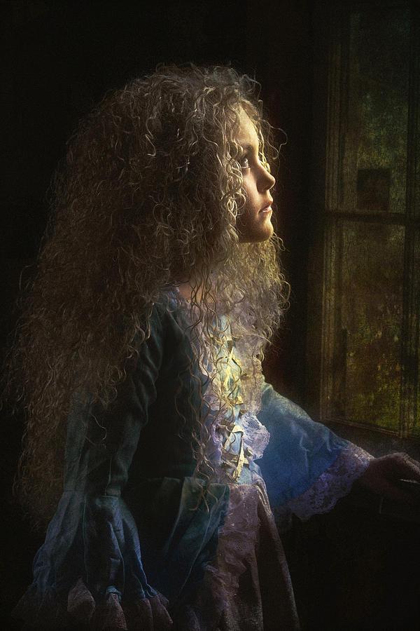 Girl Photograph - Olivia by John Rivera