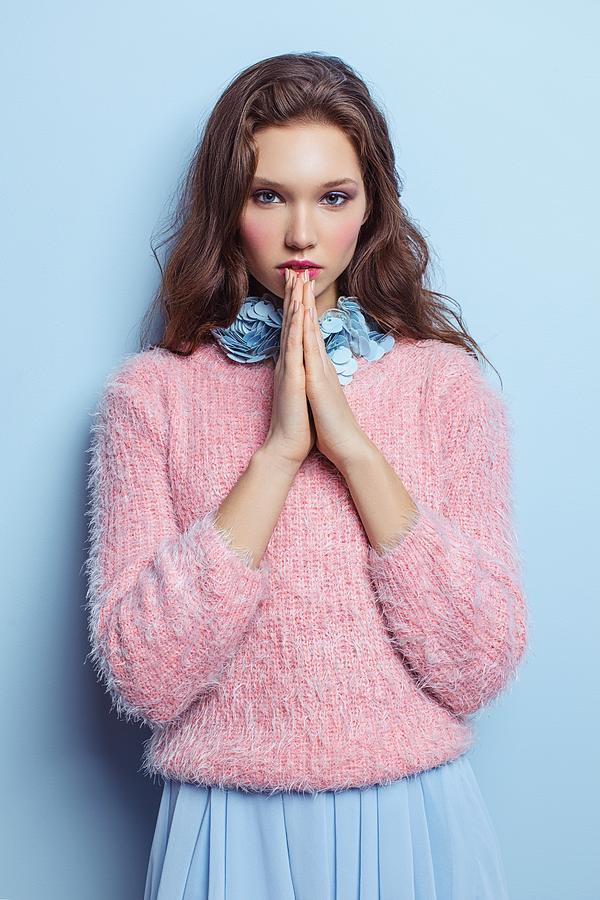 Model Photograph - Olya by Dmitry Leshchenko