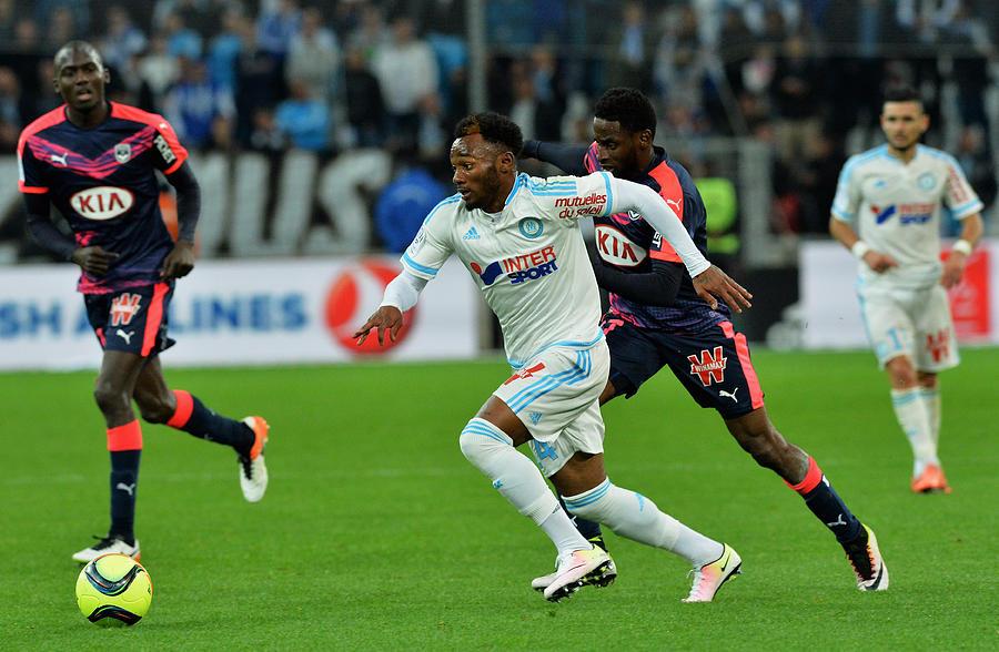 Olympique de Marseille v FC Girondins de Bordeaux  Ligue 1 Photograph by Pascal Rondeau
