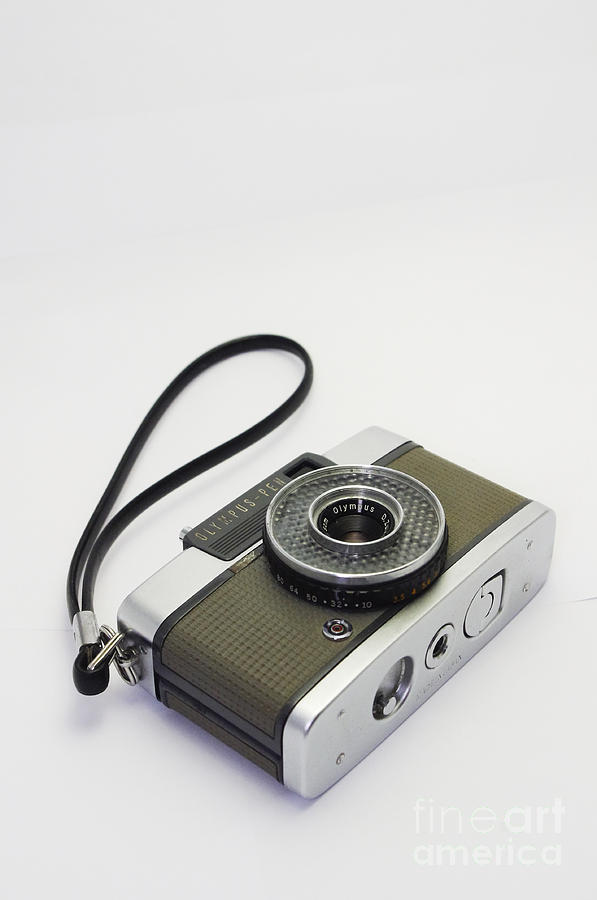 Olympus Photograph - Olympus Pen-film Camera by Tuimages