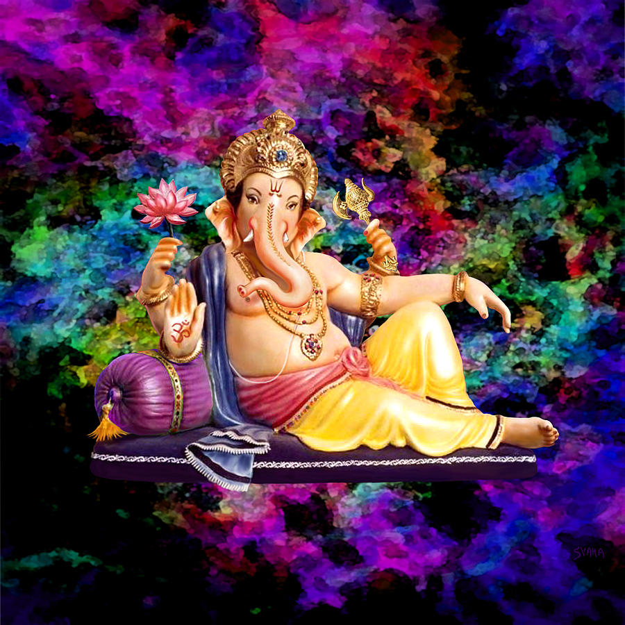 Sri Ganesha Digital Art