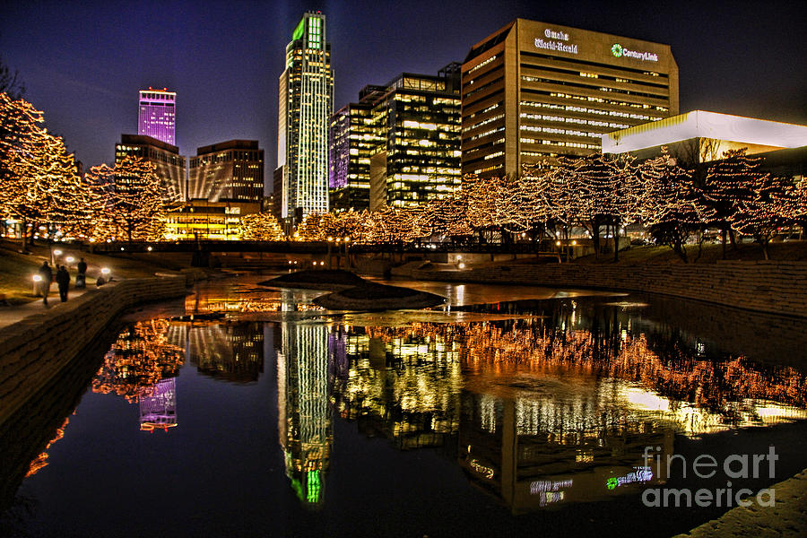 Omaha holiday lights festival photograph by elizabeth winter for Craft shows in nebraska