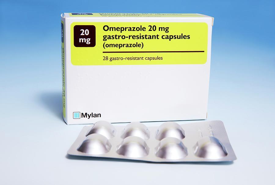 Omeprazole Indigestion Capsules by Mark Thomas/science Photo Library