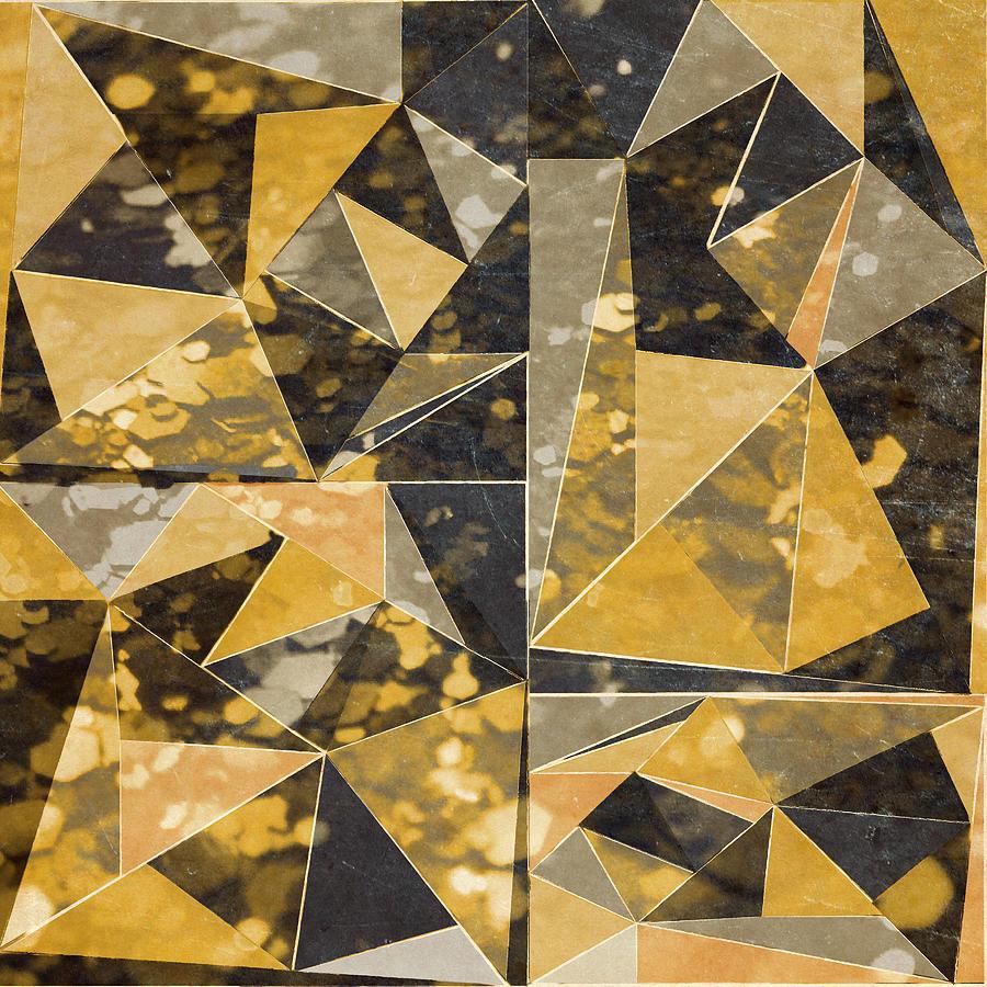 Omg Digital Art - Omg Modern Triangles II by south Social Studio