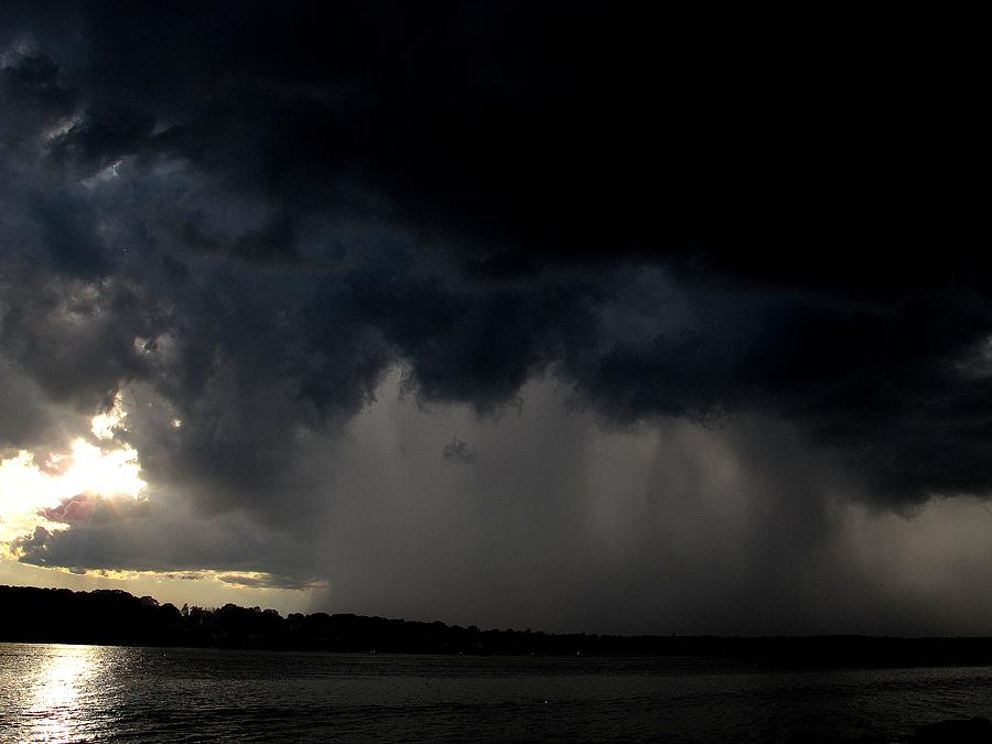 Mackerel Cove Photograph - Ominous  by Donnie Freeman