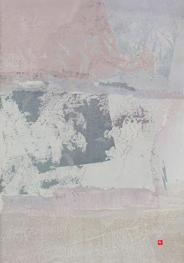 Patterns Painting - Ominous Haiku by Edward Jensen