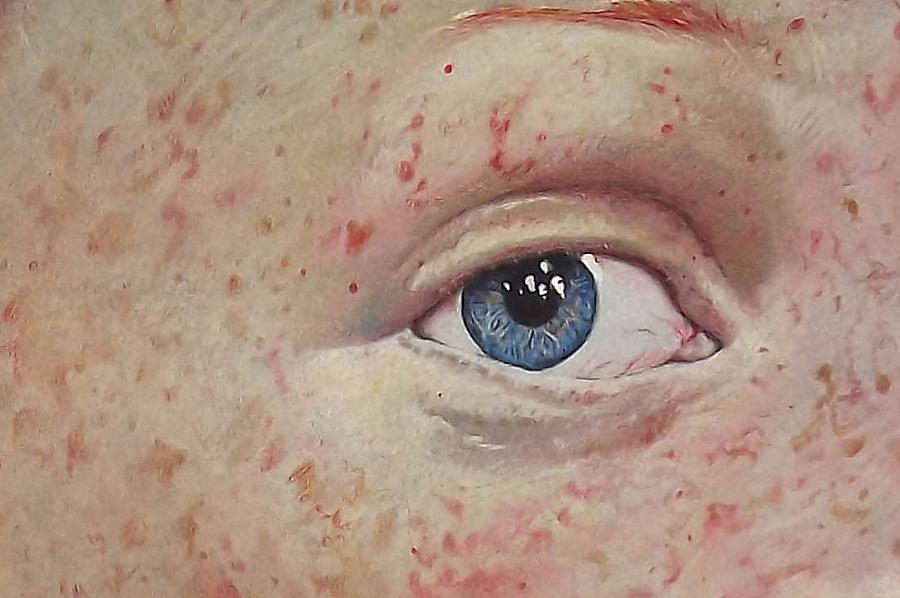Eye Painting - Omni by Patrick Harden