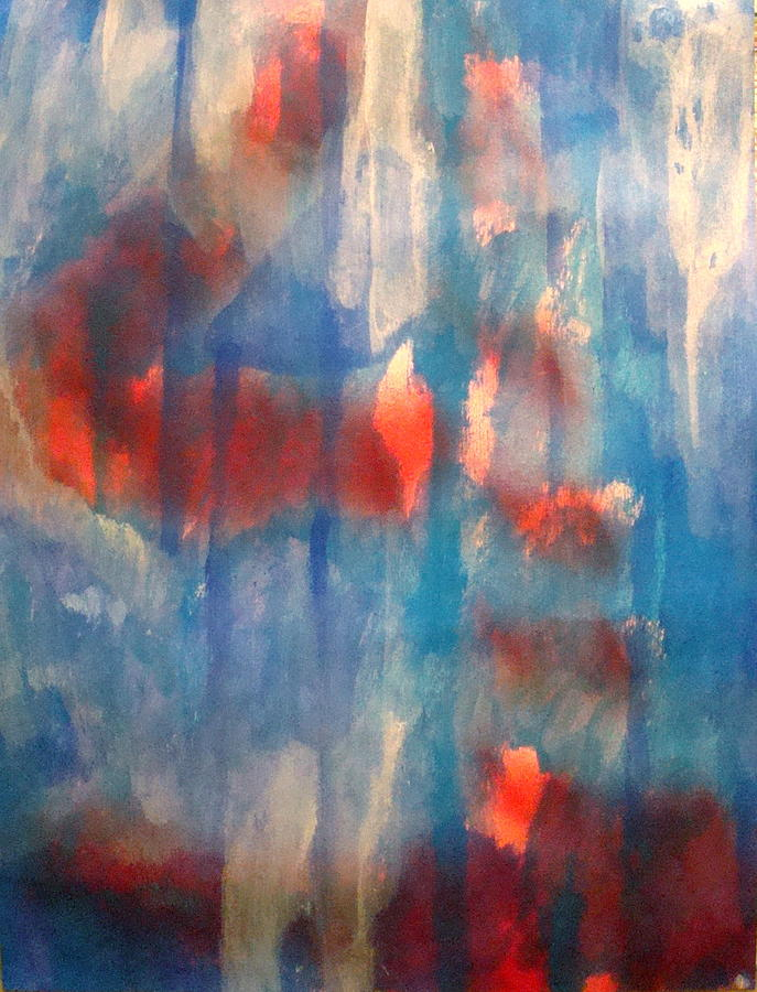 Christian Painting - On A Clear Day - Red Forever by W  Todd Durrance