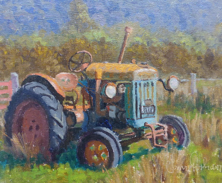 Landscape Painting - On A Westland Farm  by Terry Perham