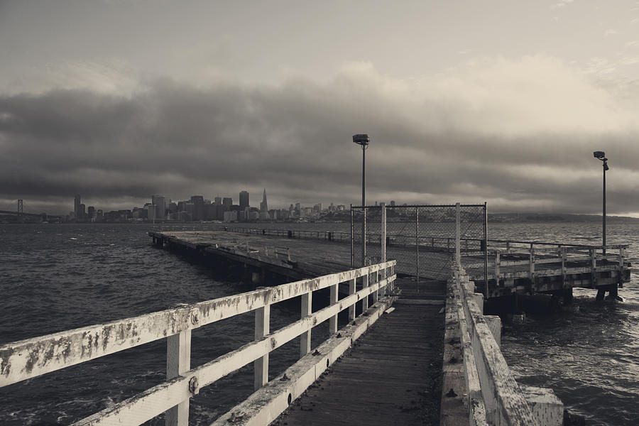Treasure Island Photograph - On And On by Laurie Search