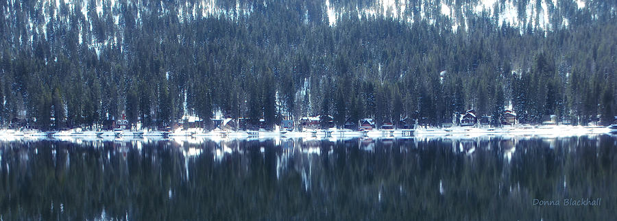 Donner Photograph - On Donner by Donna Blackhall