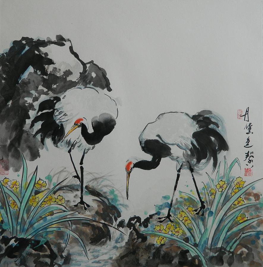 On Each Side by Min Wang