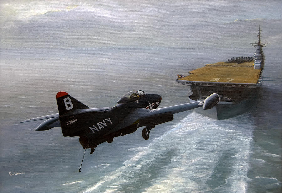 On Final Painting by Pete Wenman