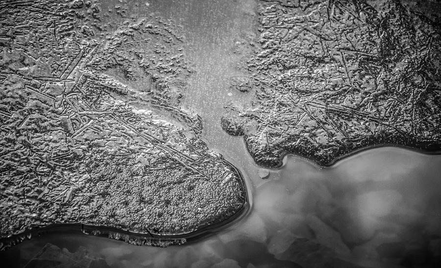 Ice Islands Photograph