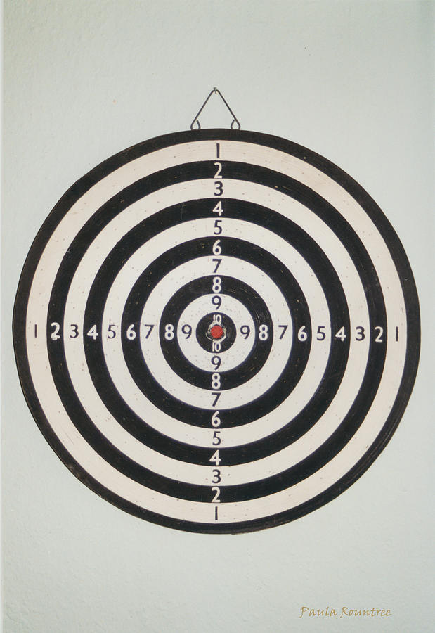 Target Photograph - On Target by Paula Rountree Bischoff