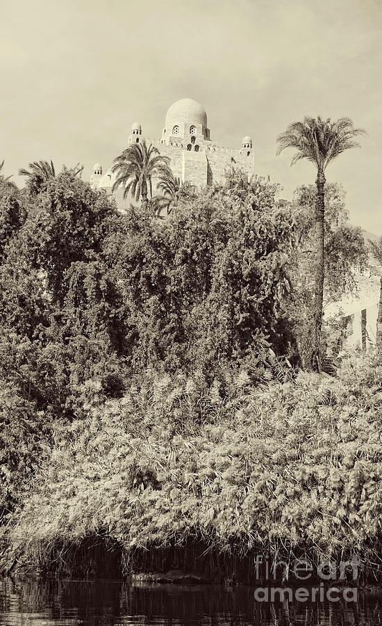 Aswan Photograph - On The Banks Of The Nile by Nigel Fletcher-Jones