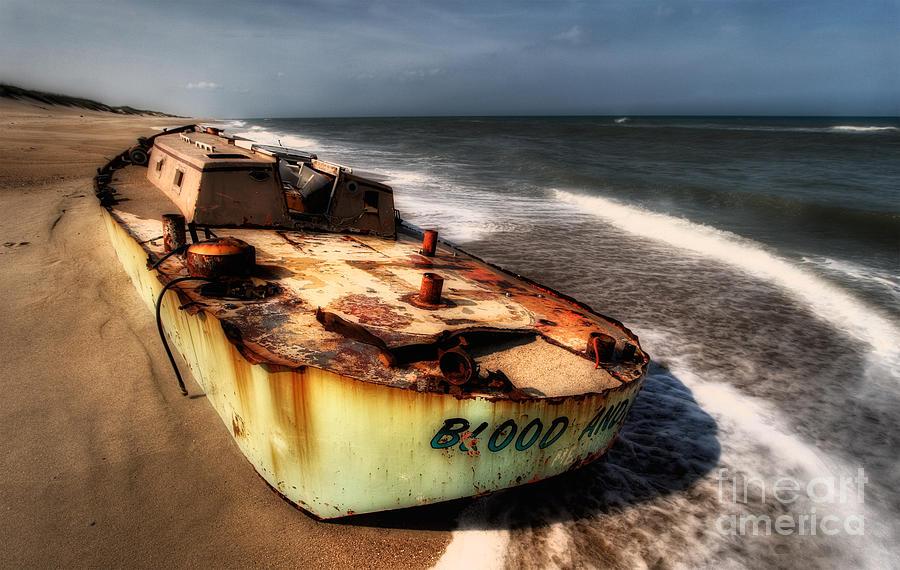 North Carolina Photograph - On The Beach II - Outer Banks by Dan Carmichael