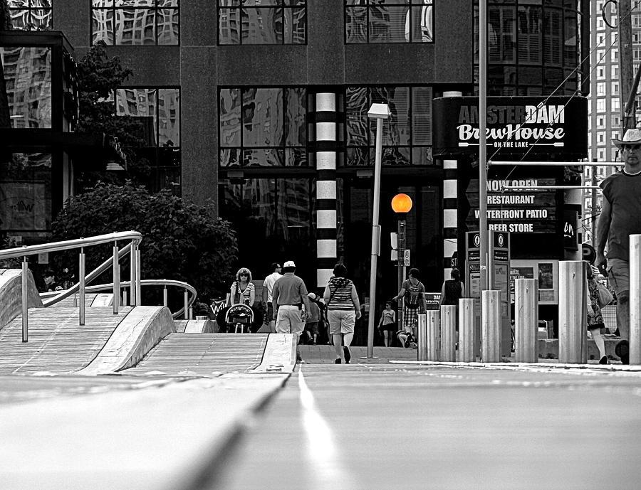 Toronto Photograph - On The Boardwalk by Valentino Visentini