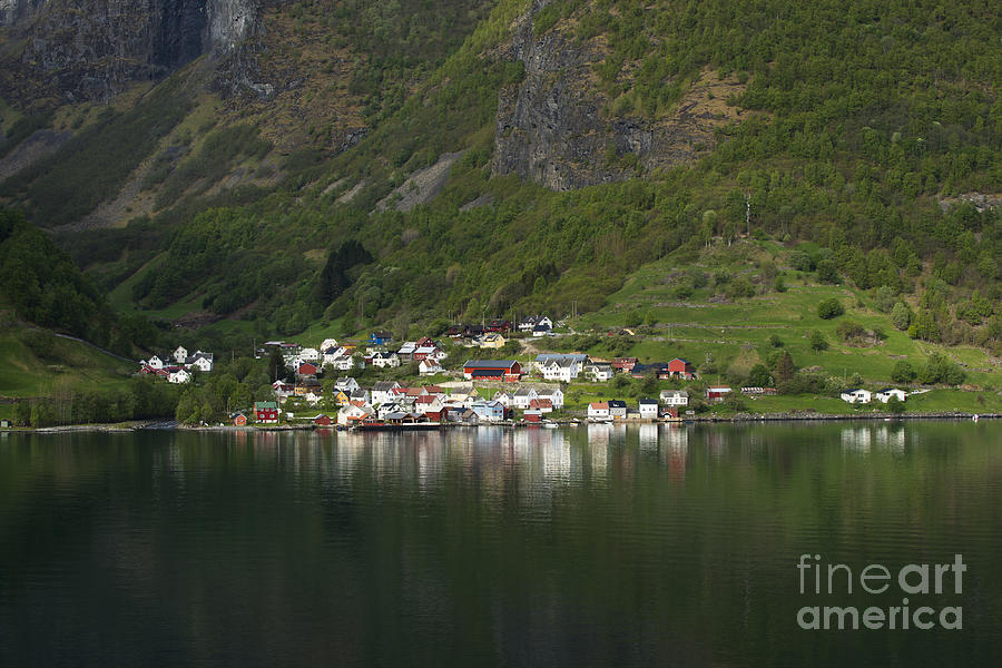 On the Edge of the Fjord by Anne Gilbert