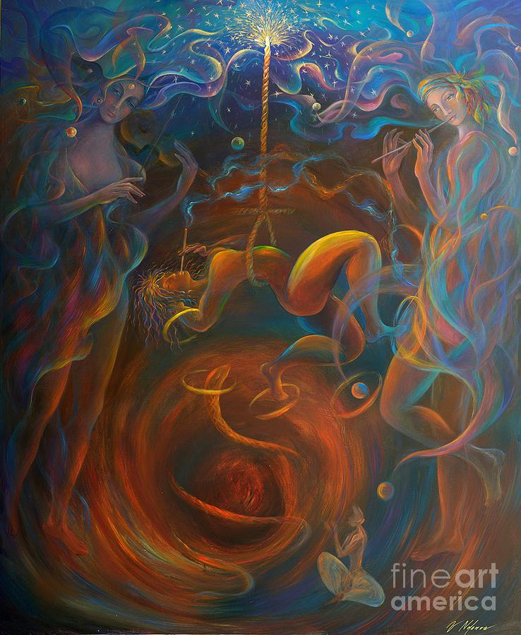 Peace Painting - On The Estatic Verge by Vladimir Nazarov