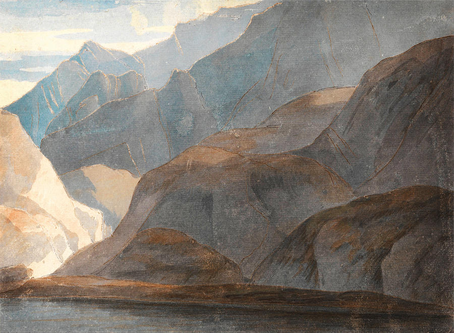 Nature Painting - On The Lake Of Como by Celestial Images