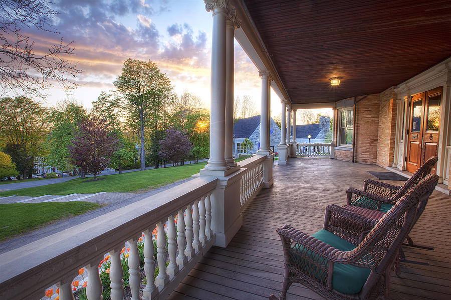 Porch Photograph - On The Porch by Eric Gendron