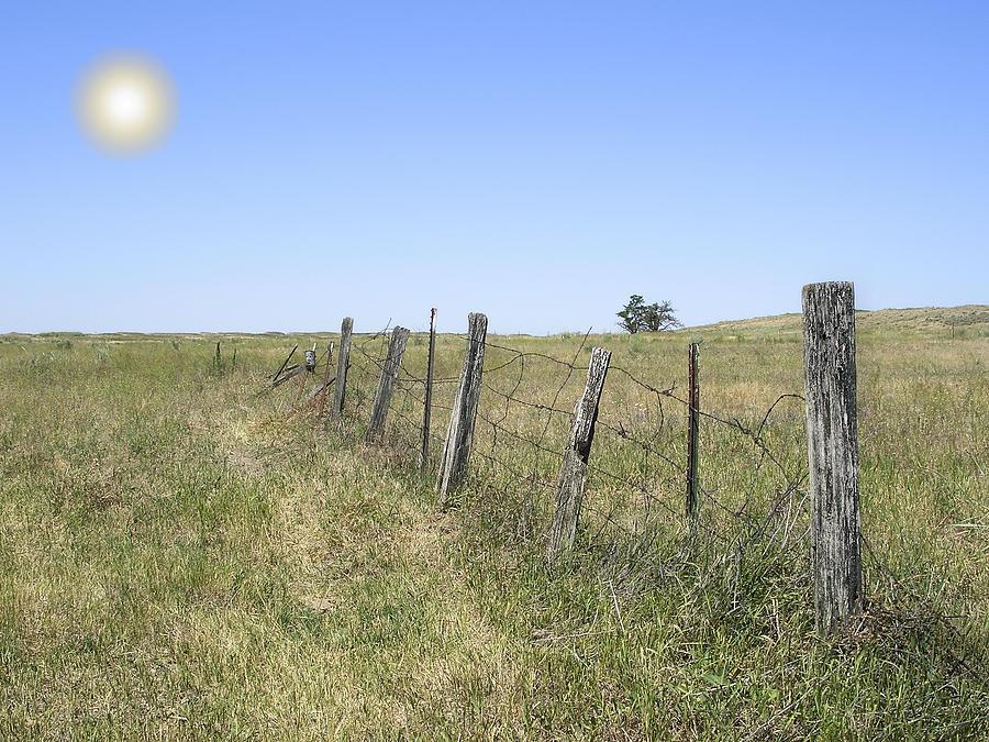 Prairie Photograph - On The Range by Daniel Hagerman