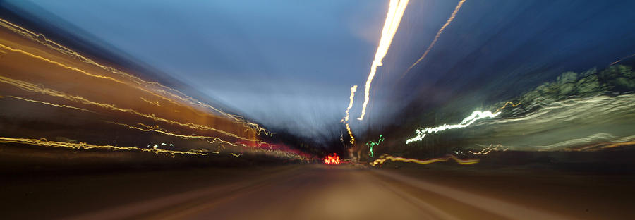 Road Photograph - On The Road 2 by Wesley Elsberry