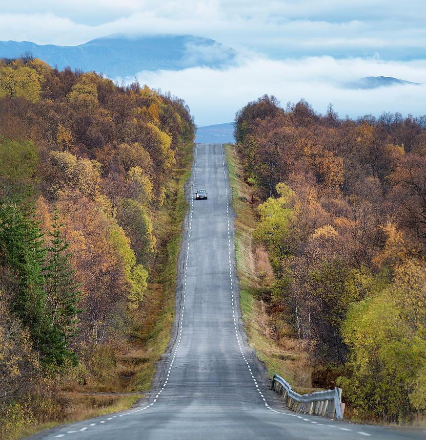 Landscape Photograph - On The Road Again by Christian Lindsten