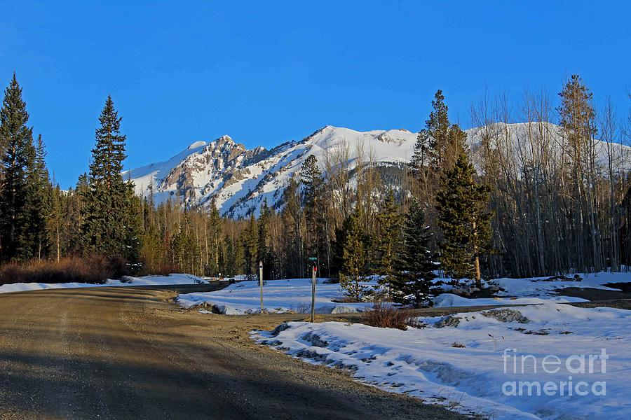 Mountains Photograph - On The Road Again by Fiona Kennard