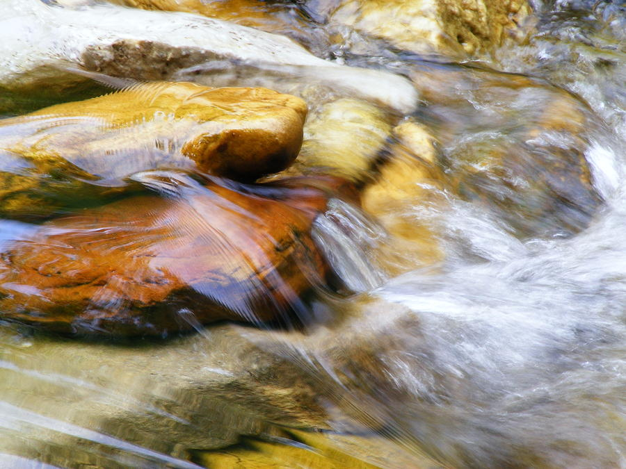 Water Photograph - On The Rocks by Edward Hamilton