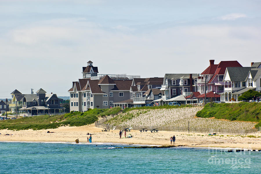 Beach Photograph - On The Vineyard by Michelle Wiarda